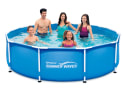 Summer Waves 10-Foot Round Metal Frame Pool for $64 + free shipping