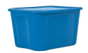 Staples 18-Gallon Plastic Flat-Lid Tote for $4 + pickup at Staples