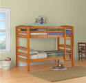 BHG Twin-Over-Twin Bunk Bed for $159 + free shipping