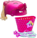 Barbie Bike Helmet, Basket, & Streamers for $16 + free shipping