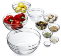 Luminarc 10-Piece Set Stackable Bowl Set for $16 + free shipping w/Prime