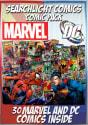 30 Comic Books w/ Super Hero Pint Glass for $30 + free shipping