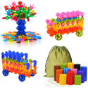 QuadPro Brain Flakes 570-Piece Building Set for $14 + free shipping w/ Prime