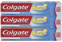 Colgate Total Whitening Toothpaste 3-Pack for $6 + free shipping