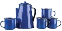 Stansport Enamel 8-Cup Percolator, 4 Mugs for $14 + free shipping w/ Prime