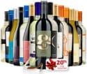 Wine Insiders 15-Bottle Wine Sampler, more: 72% off + $15 s&h