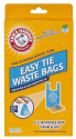 Arm & Hammer Easy-Tie Pet Waste Bag 75-Pack for $4 + free shipping
