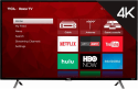 "TCL 49"" 4K WiFi LED LCD UHD Roku Smart TV for $315 + free shipping"