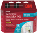 3M Indoor 5-Window Shrink Film Insulator Kit for $15 + pickup at Walmart