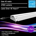 Feit Electric 42W 4-ft. LED Shop Light 2-Pack for $40 + free shipping