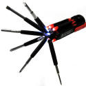 8-in-1 Multi-Screwdriver w/ 2 LED Flashlights for $5 + free shipping