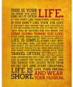 This Is Your Life Poster for $10 + free shipping