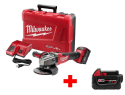 Milwaukee M18 Grinder Kit w/ Extra Battery for $299 + free shipping
