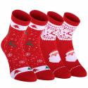 Unisex Coolmax Christmas Socks 2-Pack for $6 + free shipping