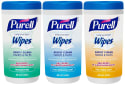 Purell Sanitizing Wipes Canister 3-Pack for $6 w/ $25 purchase + free shipping w/ Prime
