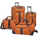 U.S. Traveler Oakton 4-Piece Luggage Set for $60 + free shipping