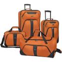 U.S. Traveler Oakton 4-Piece Luggage Set for $65 + free shipping