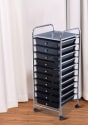 Costway 10 Drawer Rolling Cart Organizer for $33 + free shipping