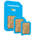 FreedomPop 4G LTE 3-in-1 SIM Kit w/ 4GB Data for 1 cent + free shipping