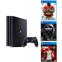PlayStation 4 Pro 1TB 4K Console w/ 3 Games for $400 + free shipping