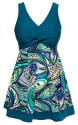 Wantdo Women's Slimming Modest Swimdress from $8 + free shipping w/ Prime