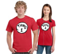 Dr. Seuss Thing 1 or Thing 2 T-Shirt for $10 + free shipping