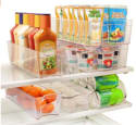 Greenco 6pc Stackable Refrigerator Organizer for $29 + free shipping