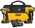 DeWalt 20V Cordless Combo Kit w/ Light for $152 + free shipping