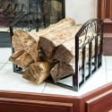 Pure Garden Fireplace Log Bin with Scrolls for $23 + pickup at Walmart