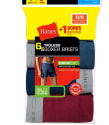 Hanes Men's ComfortFlex Boxer Briefs 6-Pack for $15 + free shipping
