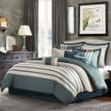 Madison Park Harlem 12pc Queen Comforter Set for $76 + free shipping