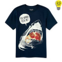 The Children's Place Boys' Shark T-Shirt for $4 + free shipping