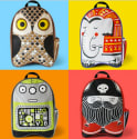 Wry Baby Kids' Stuf Canvas Backpack for $6 + free shipping