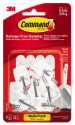 Command Small Wire Hooks 9-Pack for $5 + pickup at Walmart