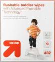 Target Up & Up Flushable Wipes Settlement