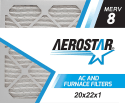 Aerostar Pleated Air Filter 6-Pack for $28 + free shipping