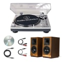 Klipsch The Sixes Speakers w/ USB Turntable for $799 + free shipping