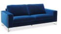 """Cipolia 85"""" Fabric Sofa with Metal Inlays for $699 + $99 s&h"""