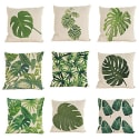 9 Tropical Plant Pattern Linen Pillowcases for $19 + free s&h from China