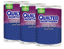 24 Quilted Northern Toilet Paper Rolls for $17 + free shipping