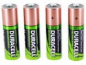 Duracell AA Rechargeable Batteries 4-Pack for $8 + free shipping