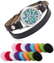 Lurico Aroma Essential Oil Diffuser Bracelet for $13 + free shipping w/ Prime
