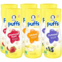 Gerber Puffs Cereal Snack Variety 6-Pack for $7 + free shipping w/ Prime