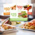 $175 Restaurant.com Gift Card Bundle for $28