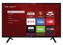 """Refurb TCL 32"""" 720p LED LCD Roku Smart TV for $115 + free shipping"""