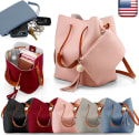 Women's Messenger Cross Body Bag for $9 + free shipping