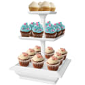 Chef Buddy 3-Tier Cupcake Dessert Stand Tray for $8 + pickup at Walmart