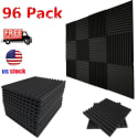 Soundproofing Acoustic Panel 96-Pack for $80 + free shipping