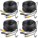 Masione 150ft Security Camera Cable 4-Pack for $30 + free shipping