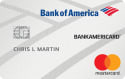 BankAmericard® Credit Card: 0% Intro APR offer